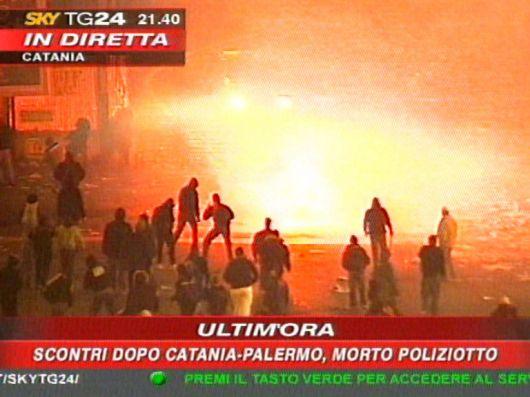 scontri di Catania