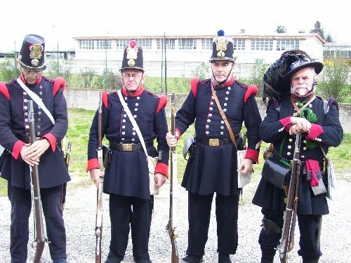 Soldati esercito piemontese