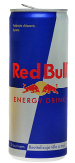 lattina di Red Bull