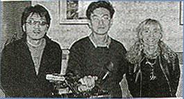 Giornalisti coreani con la Prof. Villa