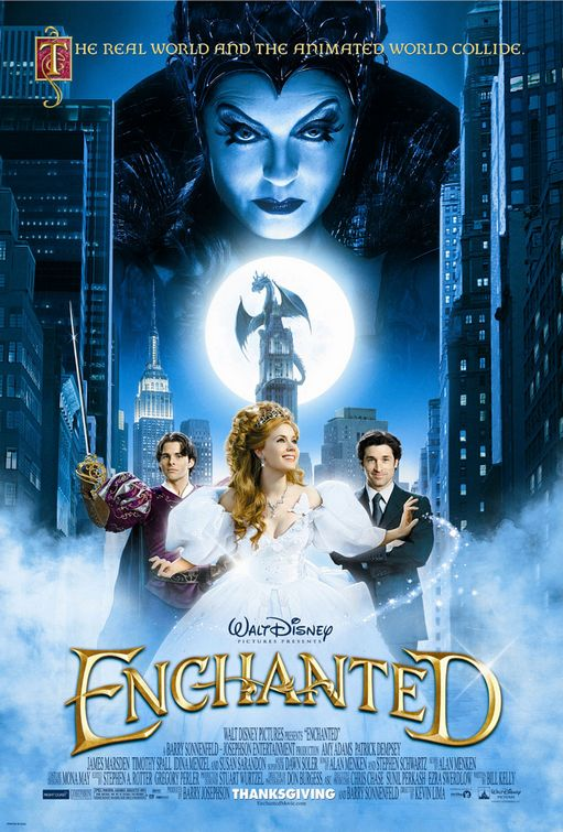 Locandina film Enchanted