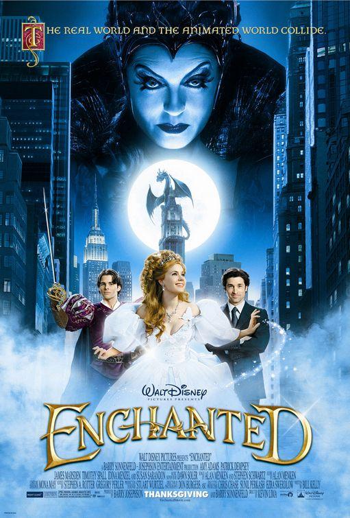 Locandina film Enchanted