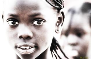 Bambina del Senegal