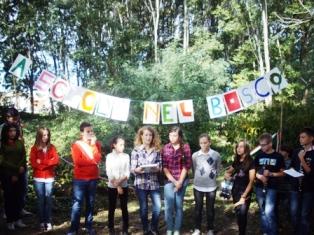 Cerimonia di inaugurazione 'A scuola nel bosco'
