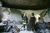 La classe dove è crollato il tetto. Qui è morto il diciassettenne Vito Scafidi